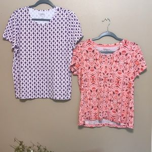 Bundle of 2 NWOT nicer size large tee shirts 👚